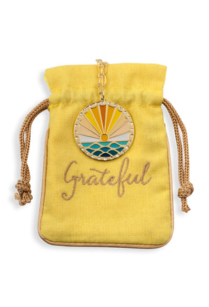 Grateful For Each Day Pendant