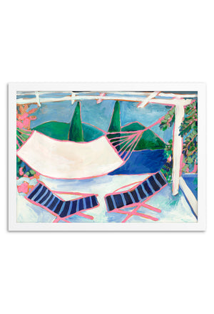 Hammock Framed or Unframed Print
