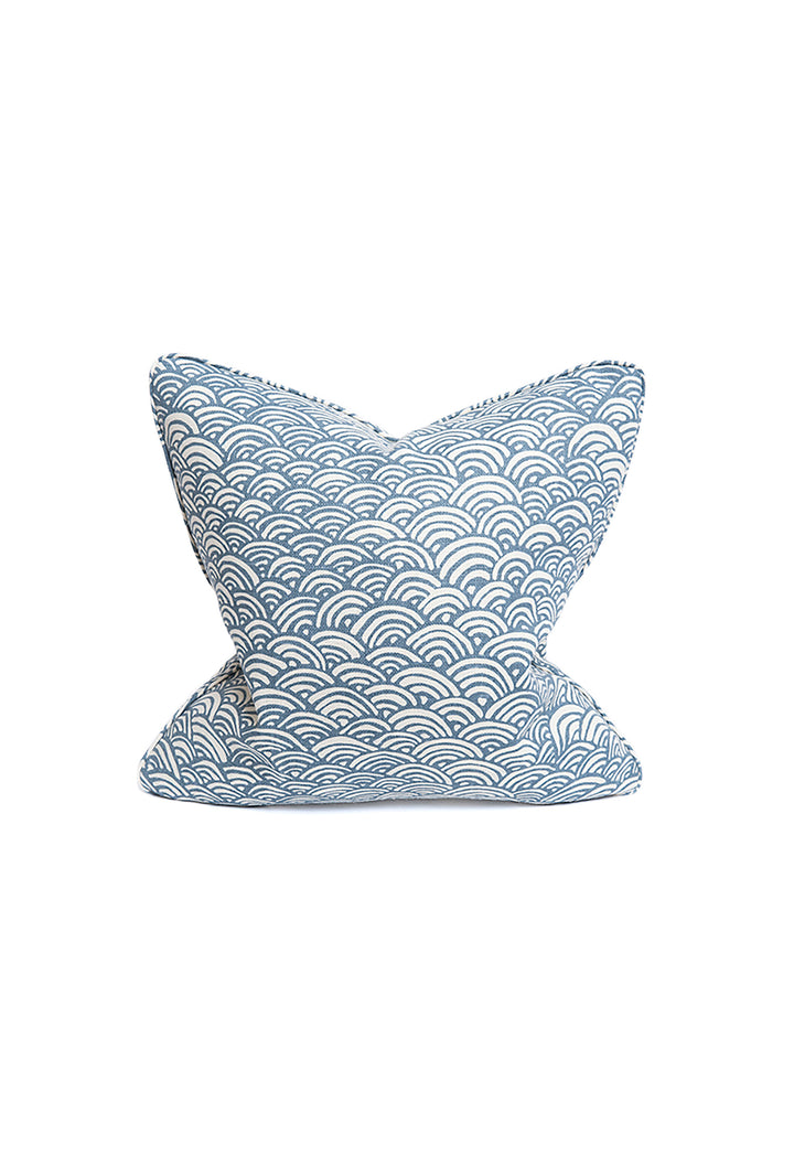 Lulu DK Rainbow Evening Blue Pillow