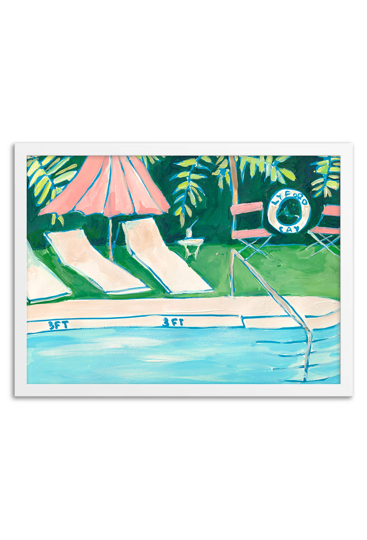 Lyford Cay Club Art Print