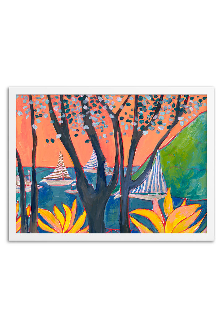 Porto Ercole III Framed or Unframed Print