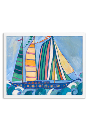 Sailor Framed or Unframed Print