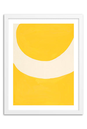 Sun Abstraction Framed Print