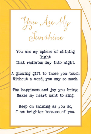 You Are My Sunshine Flip Bracelet Lulu Dk