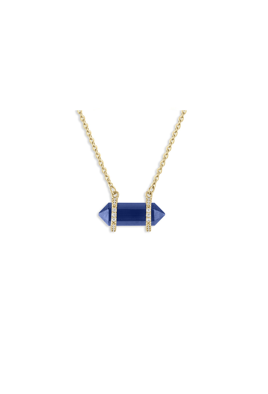 Lapis Cat's Eye Barrel