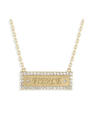 Fierce Bar Necklace