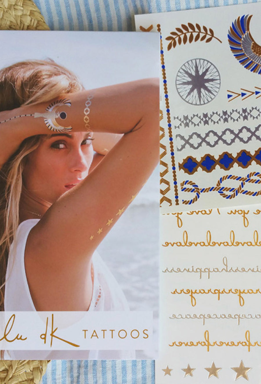 Golden I Jewelry Tattoos