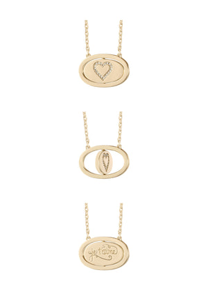 Je T'aime Flip Necklace