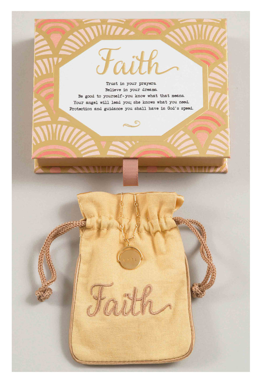Faith Love Code Charm