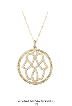 hamsa necklace product pendant