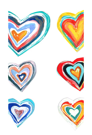 Lulu's Art Decals, I Heart U