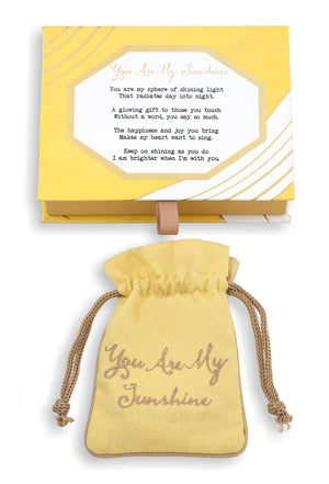 You Are My Sunshine Vermeil Flip Bracelet