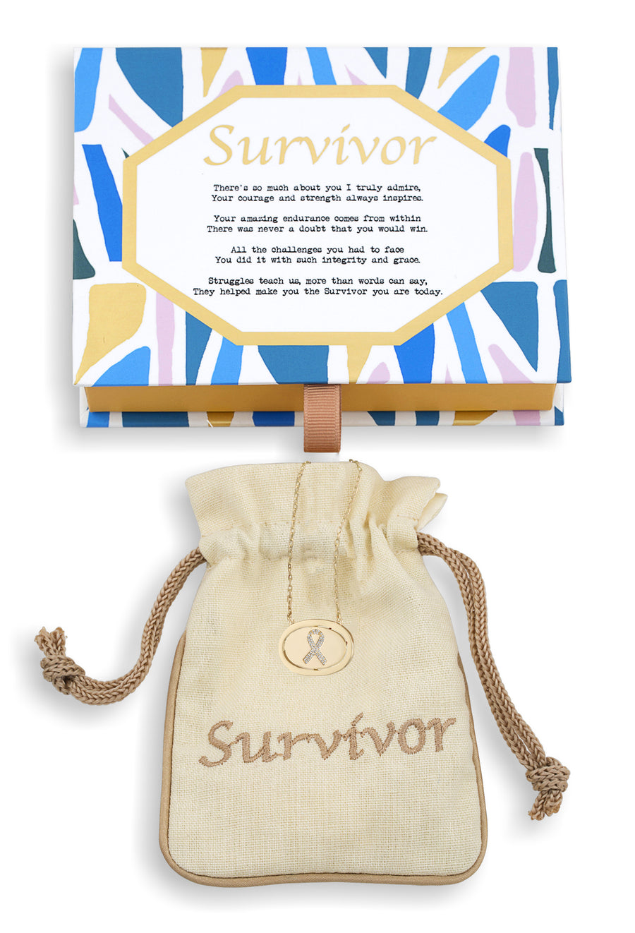 Survivor Vermeil Flip Necklace