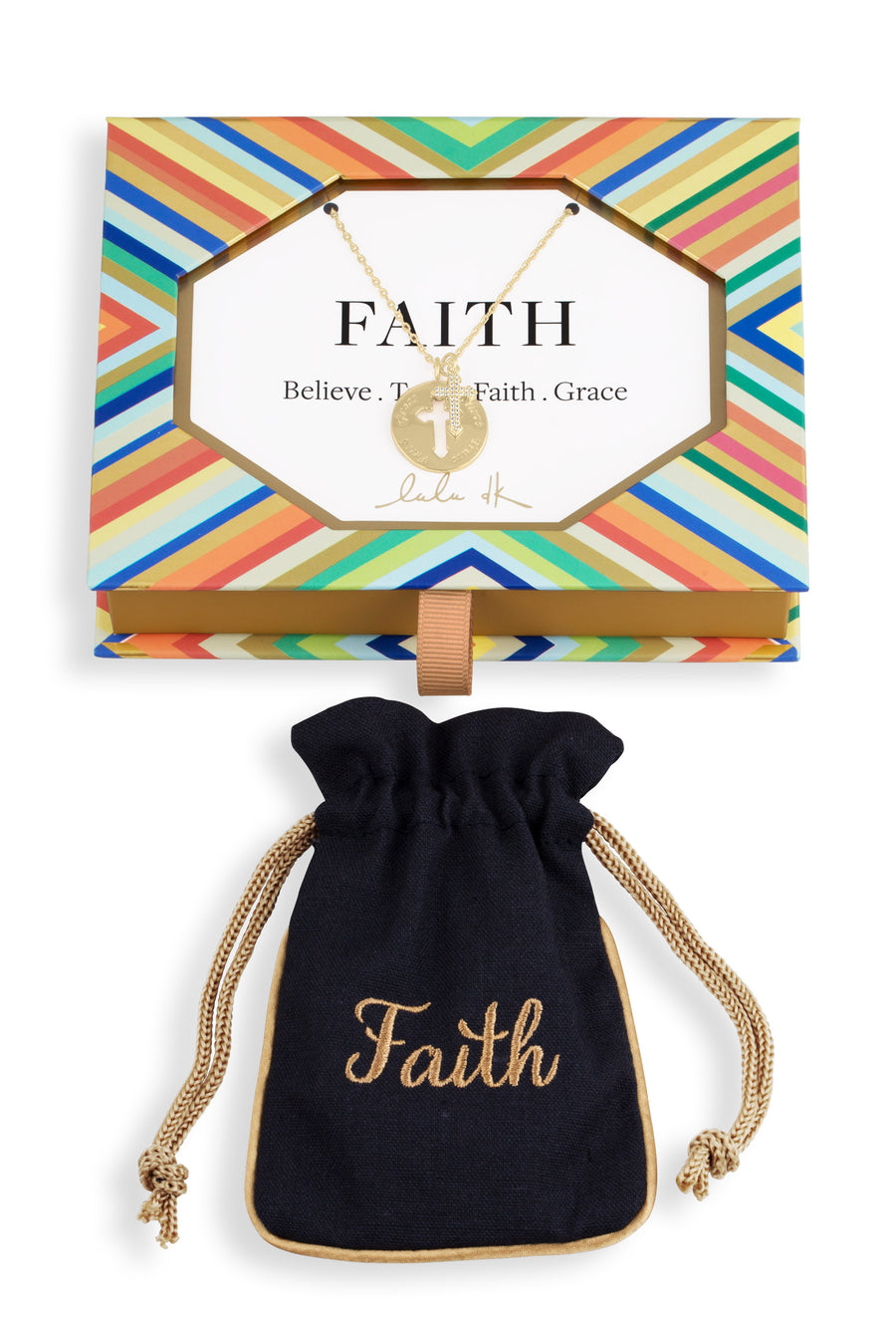 'Faith' Medallion Cutout