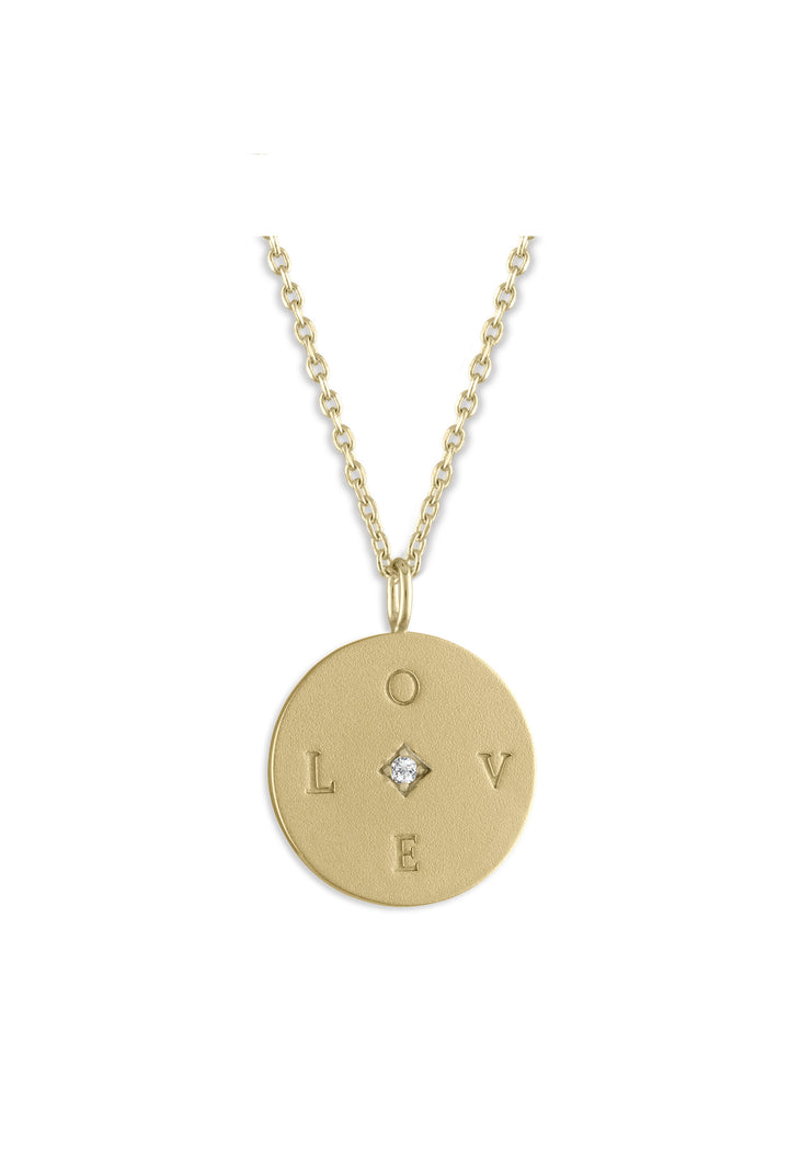 'Love' Medallion
