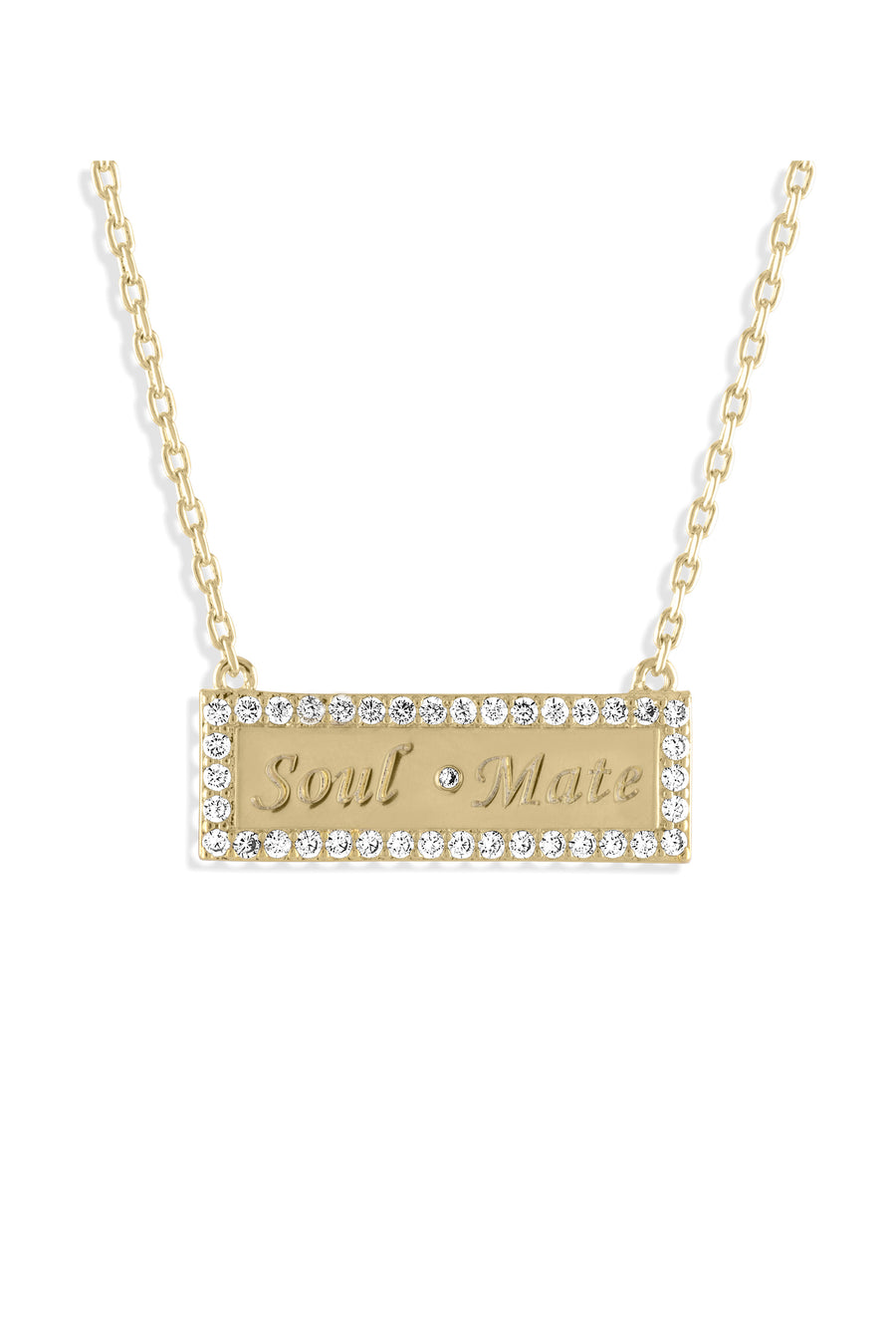Soul Mate Bar Necklace