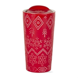 Fair Isle Travel Mug