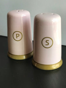 Pastel Salt & Pepper Shaker Set