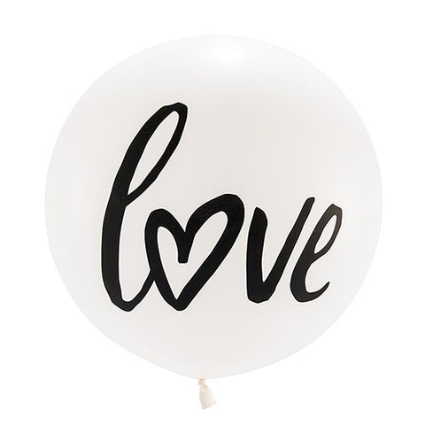 love Jumbo Balloon