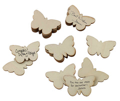 Set of 49 Guest Signing Butterflies
