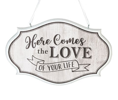 Love of Your Life Wedding Sign (Brown)