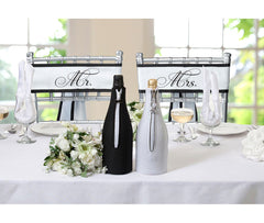 Mr. & Mrs. Chair Sashes