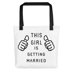 Getting Married Tote bag