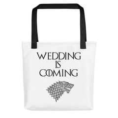 Wedding Is Coming Tote bag