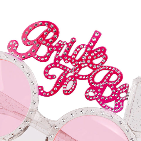 Pink Bride to Be Party Glasses