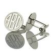 Image of Block Monogram Cufflinks