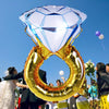Image of Diamond Ring Balloon