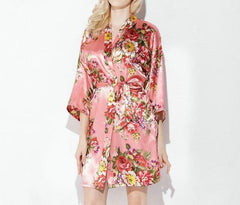 Floralita Satin Bridal Party Robe
