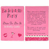 Image of Truth or Dare Bachelorette Party Game Cards