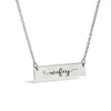Image of Wifey Bar Necklace