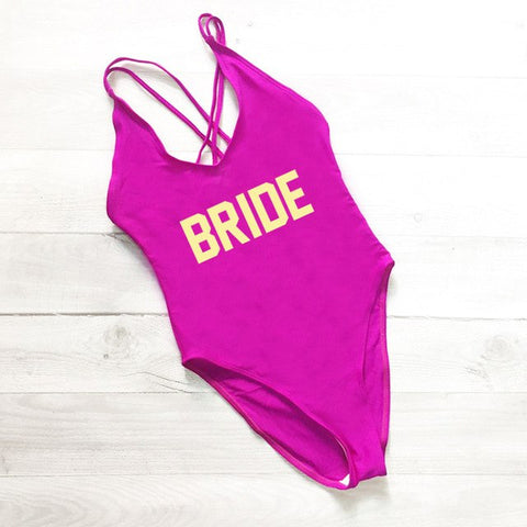 BRIDE One-Piece Swimsuit