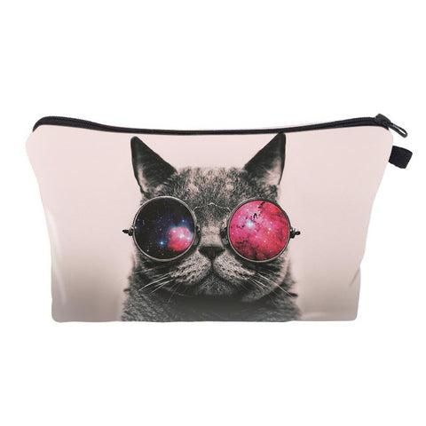 Extraterrestrial MEOW Makeup Bag
