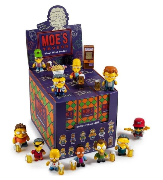 Kidrobot Moe's Tavern blind box