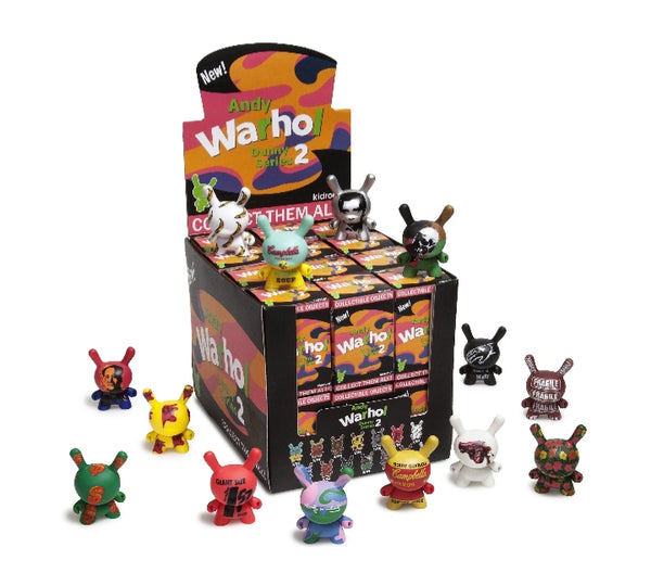 Kidrobot Andy Warhol Dunny Series 2 Blind box
