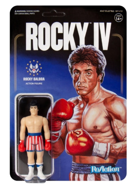 Rocky IV: Rocky Balboa Super7 ReAction Figure