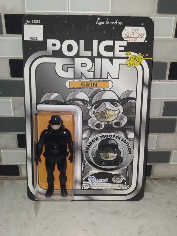 Ron English X Chi-Town Toys & Collectibles Police Grin Shadow Trooper edition