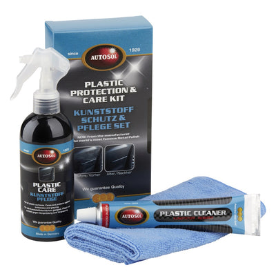 AUTOSOL Plastic Protection Cleaner & Care Kit 0006