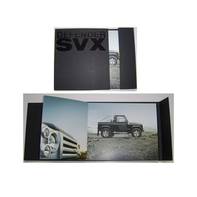 Rare Land Rover 60th Defender SVX Collector's Hardback Full Colour Brochure LRML 2800/08