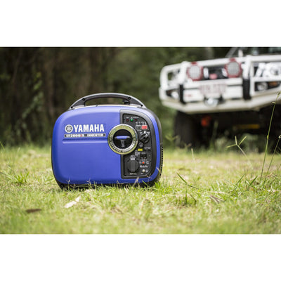 GENUINE YAMAHA EF2000iS 2 kVA Inverter Generator 4 Stroke Off Grid Camping