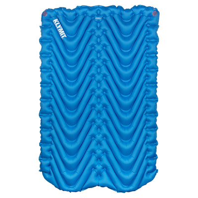 KLYMIT Double V Blue/Grey Ultra-Lite Double Size Ultra Comfortable Sleeping Pad