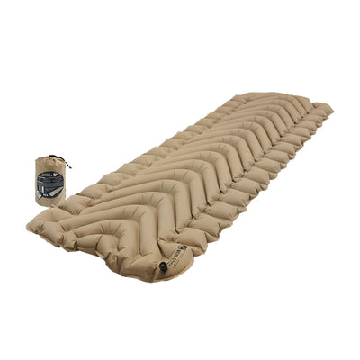 KLYMIT Insulated Static V Recon Coyote/Sand Ultra-Lite Regular Size Sleeping Pad