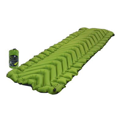 KLYMIT Static V2 Green/Charcoal Ultra-Lite Regular Size Inflatable Sleeping Pad