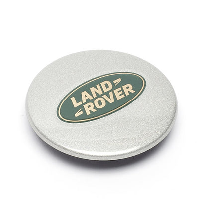 GENUINE Wheel Centre Cap for Land Rover Disco RRC Def (Green/Gold) LR089424