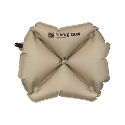 KLYMIT Pillow X Coyote / Sand Ultra-Lite Ultra Comfortable Centering Pillow