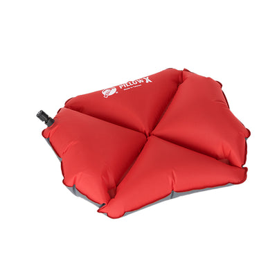 KLYMIT Pillow X Red / Grey Ultra-Lite Ultra Comfortable Centering Pillow