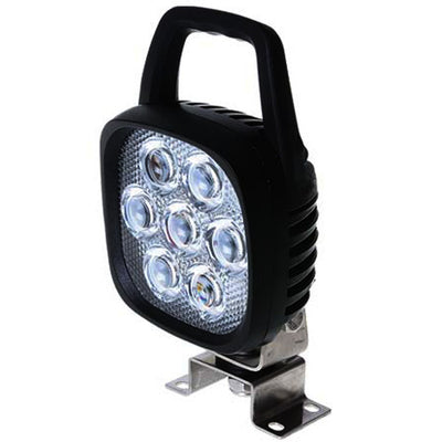 Thunder 35 Watt Square LED Work Light w/ Handle & Switch 12/24v TDR08105HS